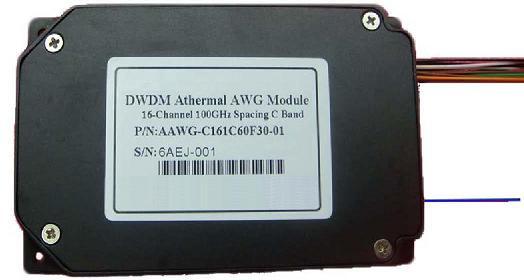 Athermal awg DWDM