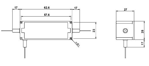 980nm保偏环形器