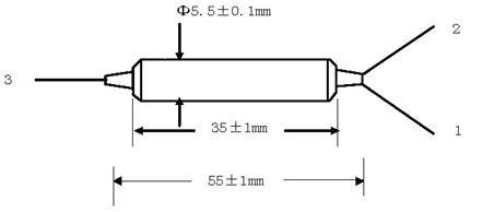 三端口 四端口保偏环形器 1x2 2x2 1310nm/1550nm
